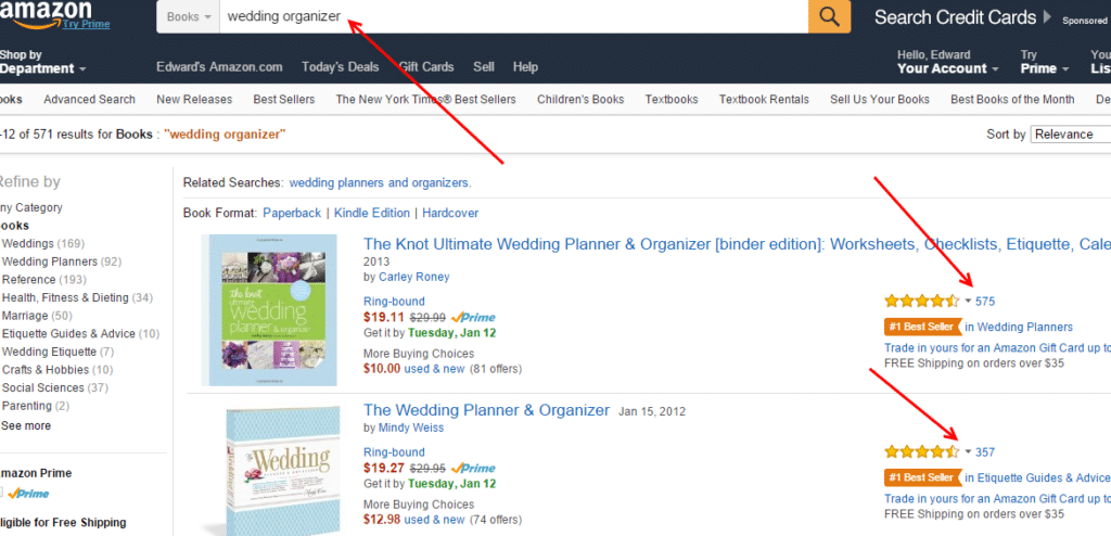 Amazon for content marketing strategy