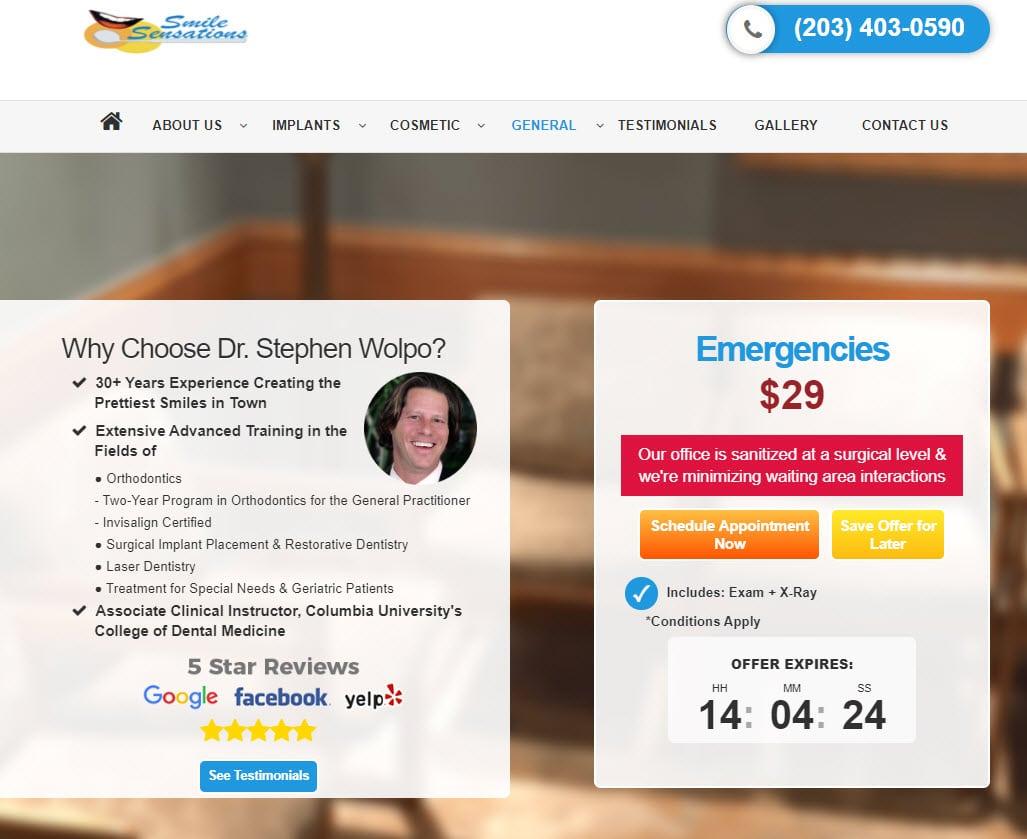 digital ads for Emergency Dentists