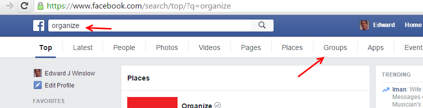 Keyword research and content strategy with Facebook Groups