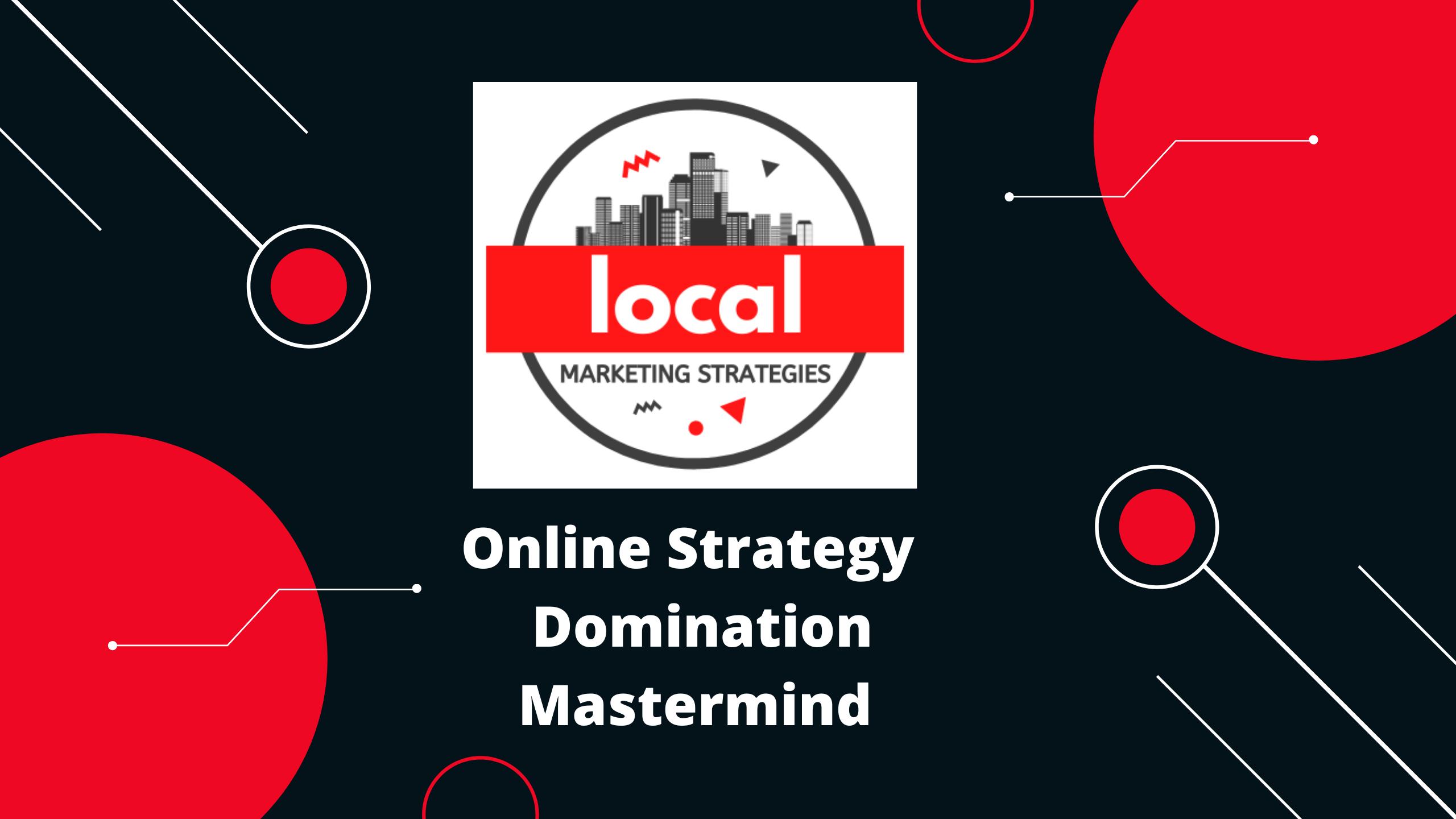 Cours de maîtrise en ligne de la domination de la stratégie