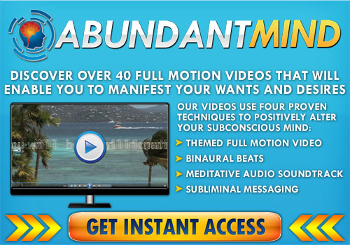 Millionaire Mindset subliminal videos to change your life