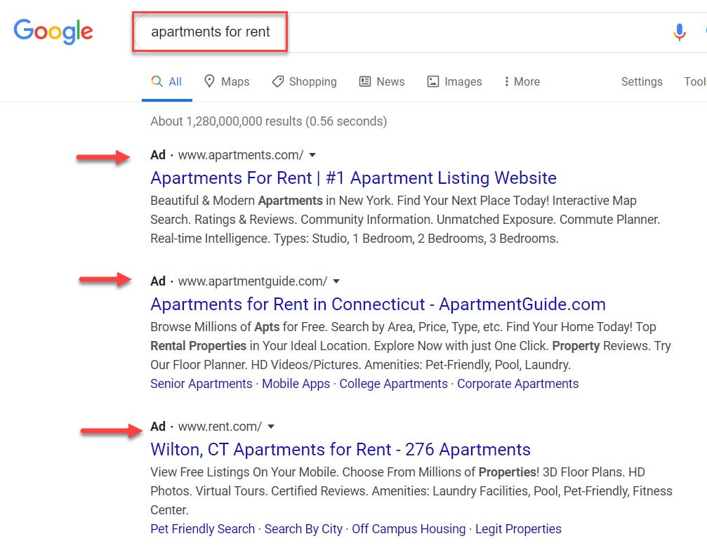 digital advertising for apartment building owners