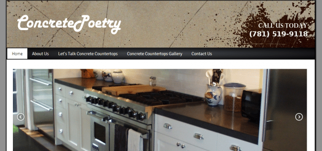 Websites For Decorative Concrete Companies