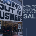 Google ads for business closing & equipment sales