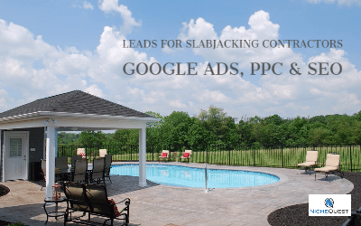 Google ads for slabjacking contractors