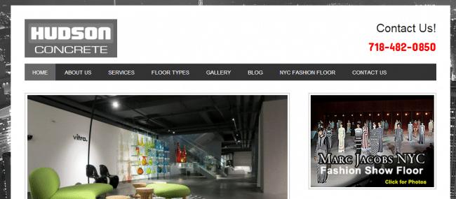 Websites For Decorative Concrete Companies