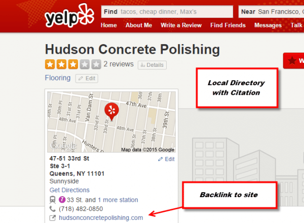 Local Directories are Ranking Factors